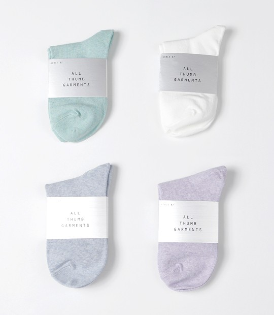 [자체제작] Pastel Tone Socks (4 colors)