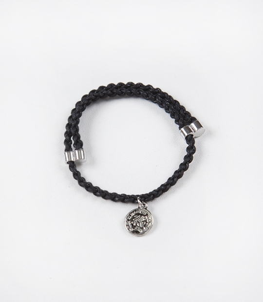 Coin Cross Bracelet